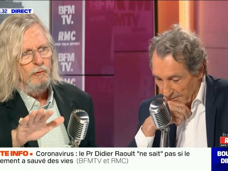 Jean-Jacques Bourdin / Didier Raoult, clash sur BFMTV — Bourdin Direct