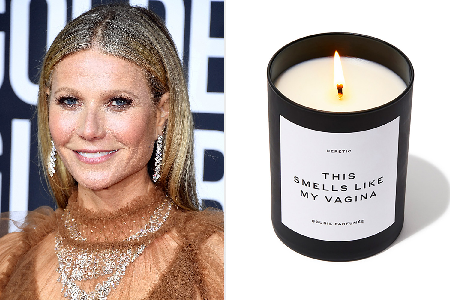 La bougie lancée par Gwyneth Paltrow @People